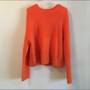 Fun Orange Sweater